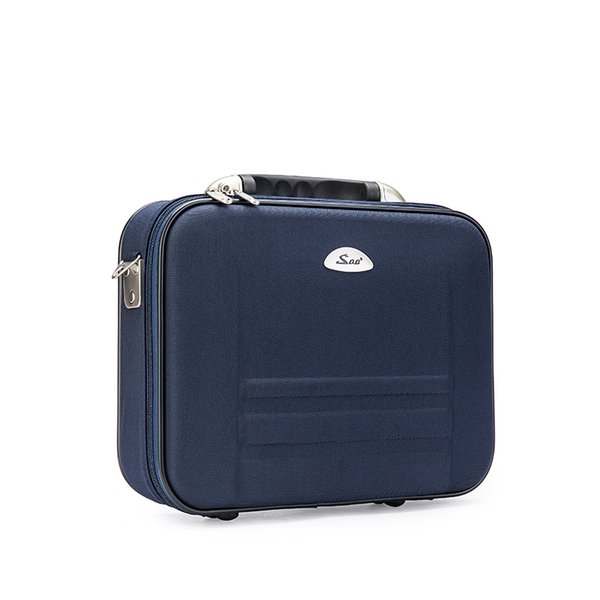 Men Oxford Material Durable Briefcase Laptop Case Business Bag Document Notebook Case 14/16 Inch Size for 14 Inch Laptop Blue