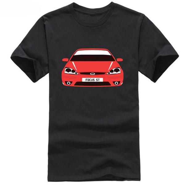 CUSTOM HTees T-shirt - FORD FOCUS MK1 ST and RS, Pick car colour & plate, S-XXXL colour jurney Print t shirt