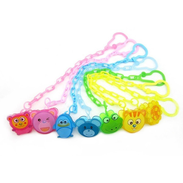 Baby Pacifier Clip Chain New Baby Boys Girls Pacifier Clips Newborn Dummy Chain Clip Holder Nipple Feeding