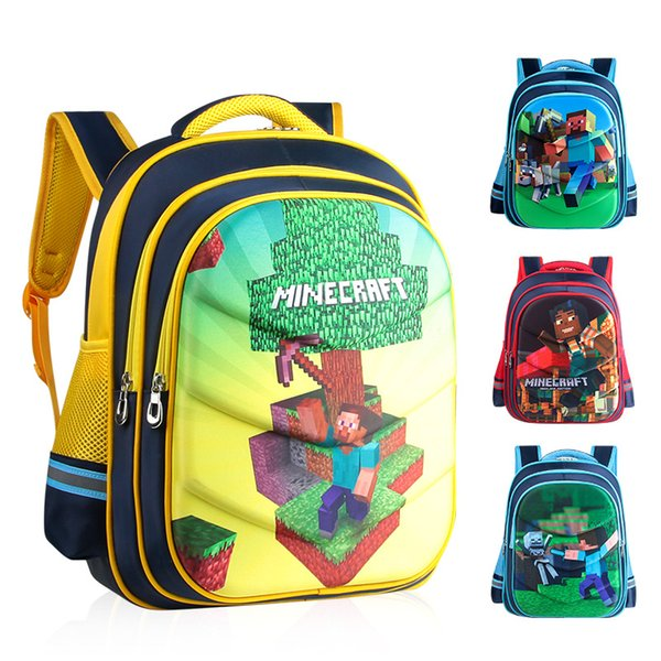 Waterproof Children School Bags For Boys Orthopedic Kids Cartoon primary School Backpacks Schoolbags Kids Mochila Infantil Zip