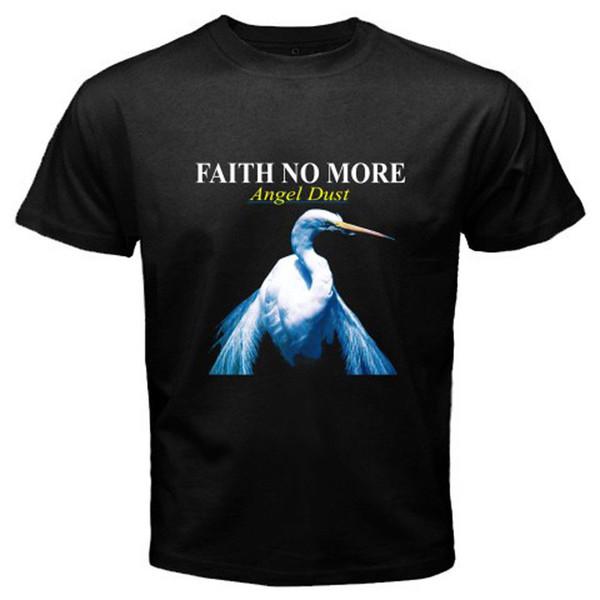 New FAITH NO MORE ANGEL DUST Mike Patton MR.BUNGLE Mens Black T-Shirt Size S-3XL Funny T Shirt Men, High Quality Tops ,Tees Men 100% Cotton
