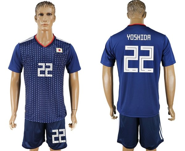 8e3340215 soccer jersey 2018/19 World Cup Japan YOSHIDA 22 camisetas de futbol home  retro uniforms