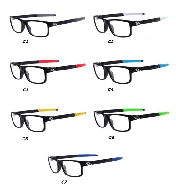 top popular 20 pcs, New style Safety goggles eyeglass frame of sports glasses Plain Outdoor riding protective glasses Windproof and sand control glasses 2019
