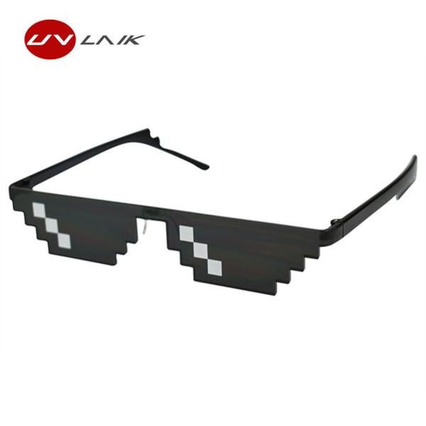 2018 дело с ним очки 8 бит бандит жизни солнцезащитные очки Женщины мужчины Dealwithit популярные во всем мире Партии смешные очки