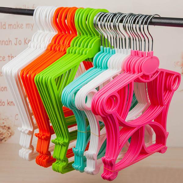 Épaissir les vêtements en plastique cintre bébé sous-vêtements séchage magasin de vêtements magasin blanchisserie spécial non-glissement costume cintres