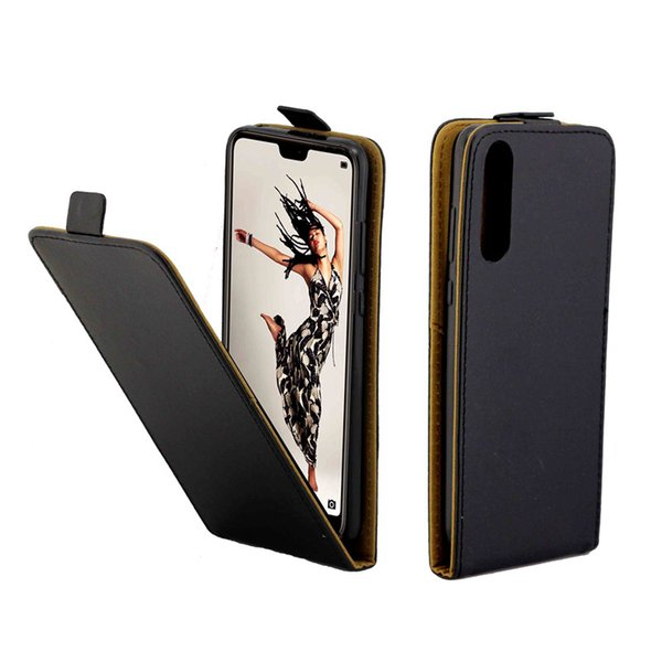 Business Leather Case For Coque Huawei P20 Pro Vertical Flip Cover Card Slot Cases For Huawei P20 Pro Phone Bags