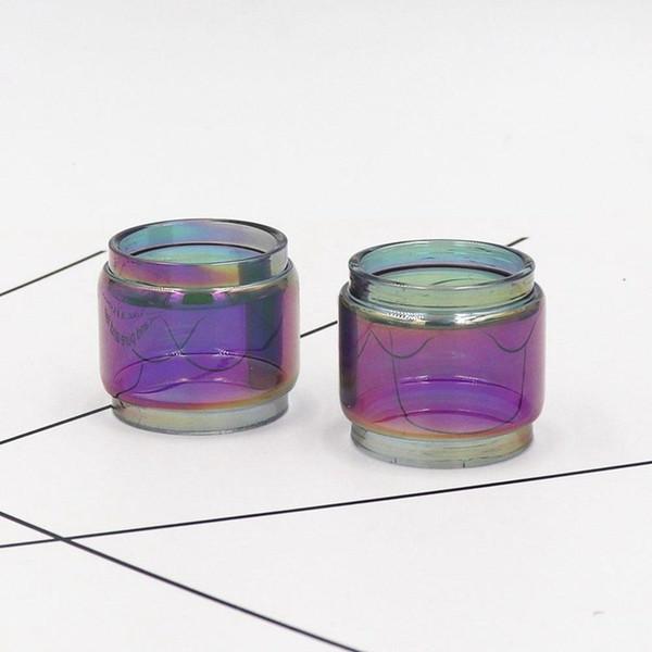 replacement Rainbow bubble glass tank tube for Geekvape Zeus RTA fat boy glass vapor ecig atomizer tank factory price