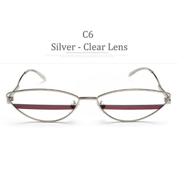 C6 Obiettivo Clear Frame Frame