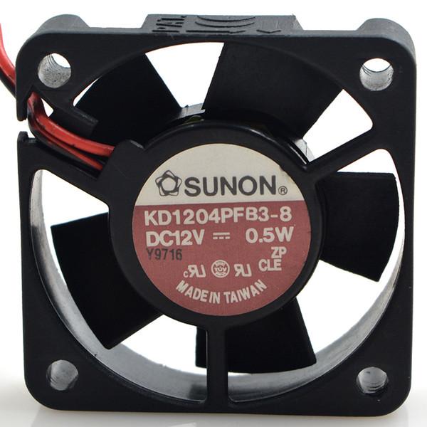 for SUNON GM1204PKV3-A 12V 0.5W 4CM 2-Wire Cooling Fan