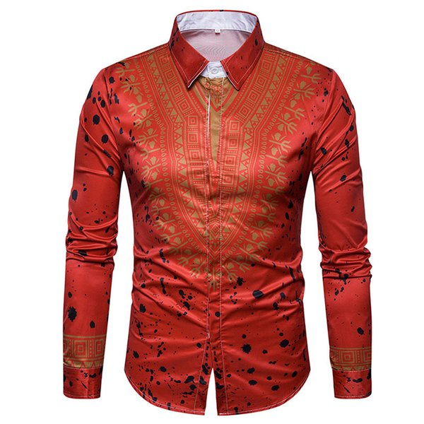 Men's Casual Shirts fashion mens clothing 3colors 5size cotton blend material breathable comfortable 2018new high-quality hot-selling shirts