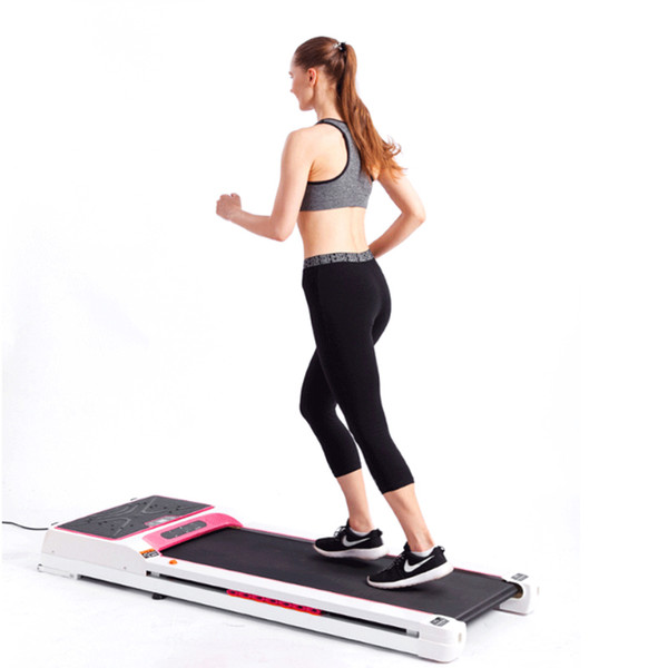 top popular Smart treadmill electric treadmill with slimming machine home mini simulators for home indoor fitness equipment 2019