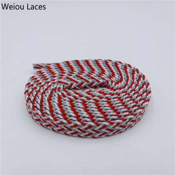 1837 White-Red-Blue grey 120cm