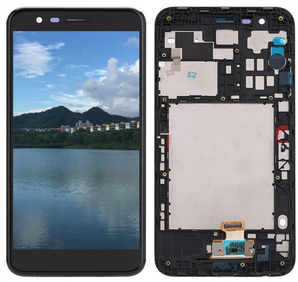 For LG K10 2018 T-Mobile LMX410 LMX410TK K30 LCD Digitizer Touch Screen Display With Frame Full Assembly 5.3inch Cellphone Repair Parts