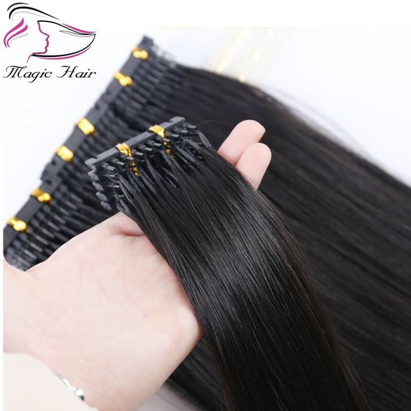 New products 2018 high quality single drawn cuticle aligned remy hair 6D pre bonded human hair extensions