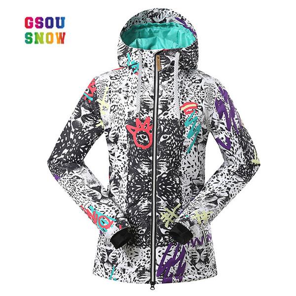 Acheter GSOU SNOW Femmes Snowboard Veste