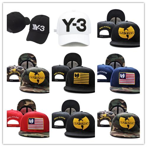 Good Sale 2018 new Black leather wu tang snapback hat wutang baseball cap wu-tang clan bone gorras