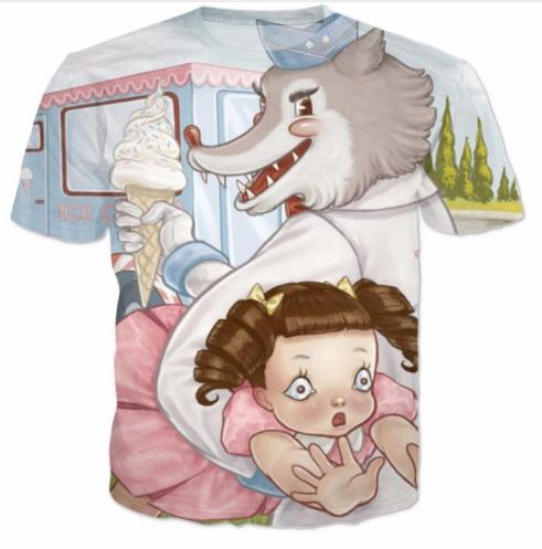 Tag You're It Melanie Martinez T-Shirt Cotton T Shirt Tees Harajuku Tumblr Tops Women Men 3D Casual Tshirt Fashion Outfits U483