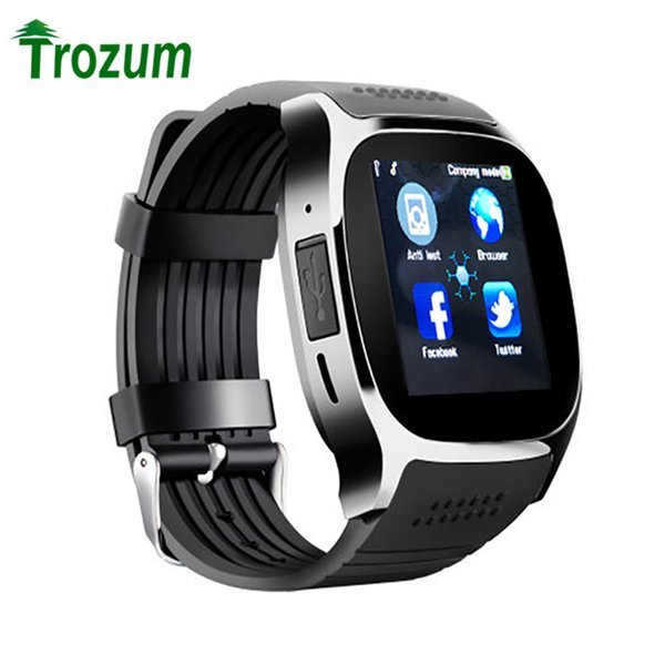 TROZUM T8 Smart Watch With Camera Facebook Whatsapp Support SIM TF Card Call Smartwatch For Android Phone PK Q18 DZ09