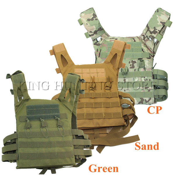 Good Quality JPC Tactical Vest Simplified Version Tactical Adjustable Vest Army Combat Gear Hunting