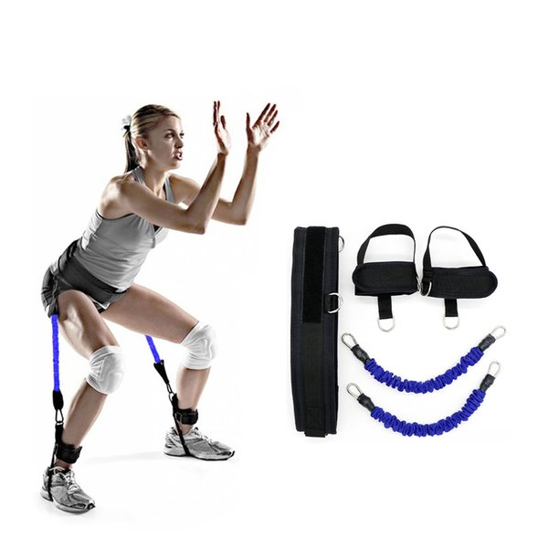New Resistance Band Running Jump Leg Strength for Men Women Training Strap Fitness Equipment Basketball Yoga Fitness Pull Rope