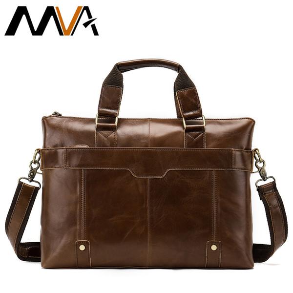 WESTAL Messenger Bag men's genuine leather men fashion shoulder bag Casual Male briefcases laptop bags for men handbags 7108