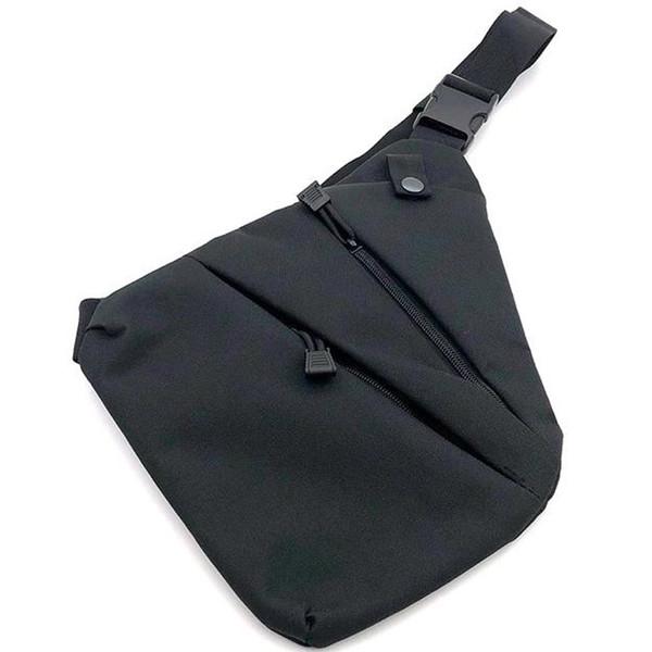 Multi-função saco de armazenamento Pessoal de um ombro saco anti-roubo Saco de peito dos homens pendurado casual sports belt