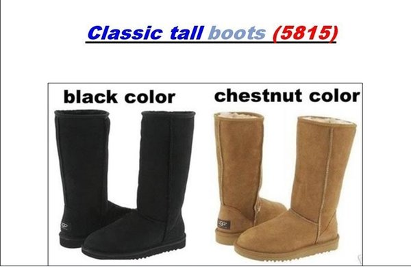 0fadc7e4c Hot sell 2018 High Quality UG5815 Australia Women's Classic tall Boots  Womens boots Boot Snow Winter