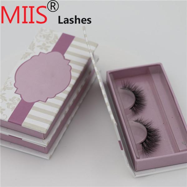 Matt Flat Soft Eye Lash Treatment Eyelash Box False Eyelash Packaging