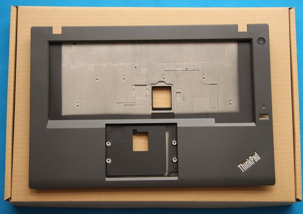 Nuevo Original Lenovo ThinkPad T450 Palmrest Keyboard Bezel Cubierta superior del estuche Dock FP Slot Hole 00HN549 00HN551 AM0TF00010 AM0TF000