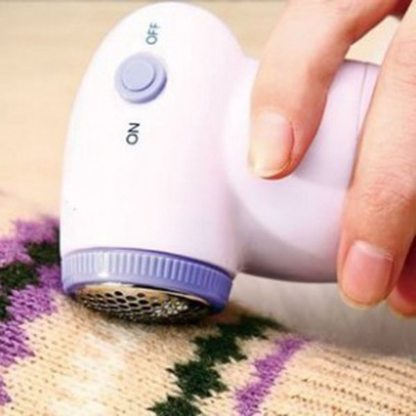 Mini Portable Sweater Clothes Lint Pill Fluff Remover Hair Ball Trimmer Fabrics Fuzz Shaver Electric Lint Remover