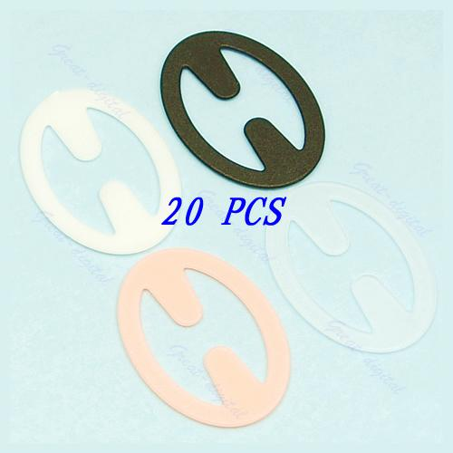 6048c381b 2 set Sexy Oval Cleavage Control Clips Hide Bra Strap Buckle Adjust  Converter Intimates Accessories WY2703