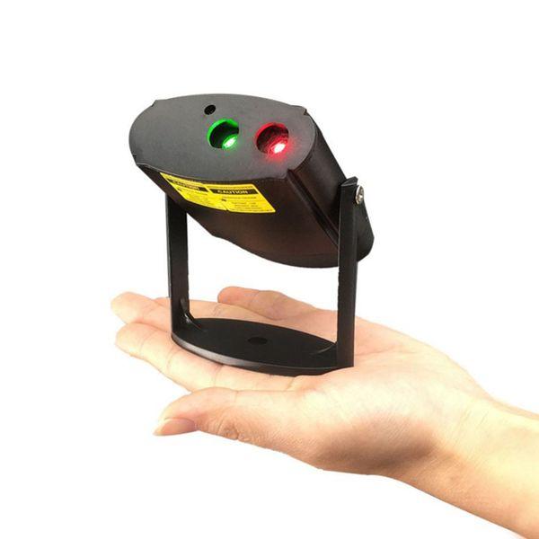 USB Min Rechargeable LED Laser Light Garden Decoration Spotlight Christmas Holiday Star Projector Lamp Novelty Light YQ-005