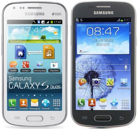 Samsung GALAXY Trend Duos S7562i S7562 S7572 4.0Inch 4G ROM Android 3G WCDMA refurbished Phone