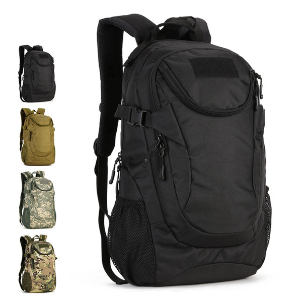 25L Waterproof 14inch Laptop Military Backpack Tactical Bag Men Outdoor Sports Backpack Tourist Hiking Camping Rucksack