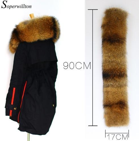 Pelle nera rossa 17 cm