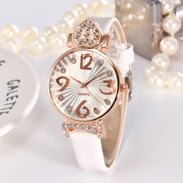 Flowers Rose Gold Girls Gold ladies Hot Sale Watches Elegant Ladies Bracelet Watch Women New Arrival Casual M3