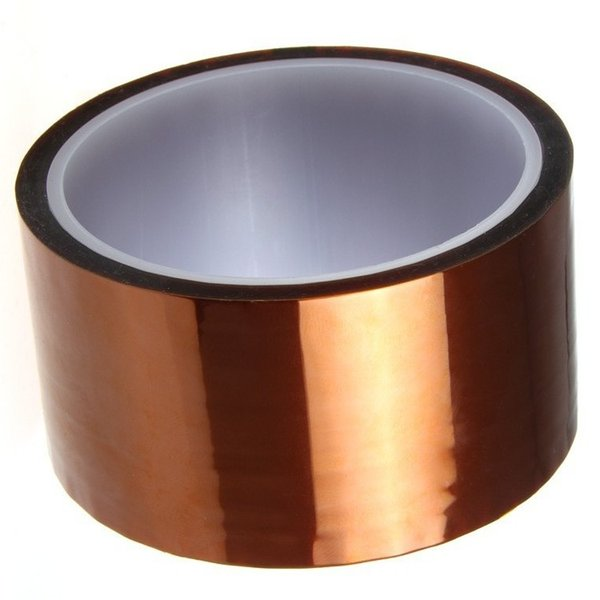 best selling 200mm x 33m 100ft Heat Resistant High Temperature Polyimide Adhesive Tape