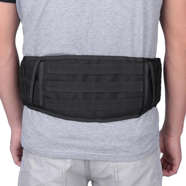 Nylon Lightweight Heavy Duty Lift Combat Rückenstütze Gürtel Brace Gurtband für Molle System Einstellbar