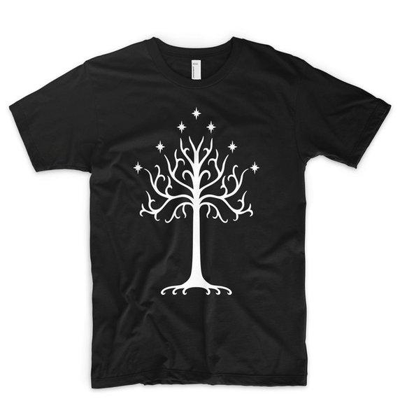 T-shirt Le Seigneur des Anneaux Hobbit Saruman Gandalf Frodo LOTR T-shirt à manches courtes