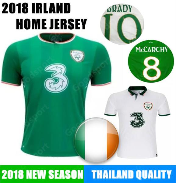 2018 Soccer Jersey IRELAND MULLER CLARK WHELAN MURPHY LONG BRADY MAGUIRE WARD DUFFY KEANE Dary calcio fútbol BEST football