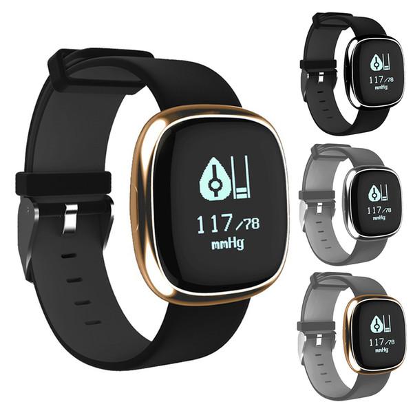 2018 Bluetooth Smart Handgelenk P2 Puls Schlaf Monitor Sport Fitness Tracker Uhr Schrittzähler Sportuhr