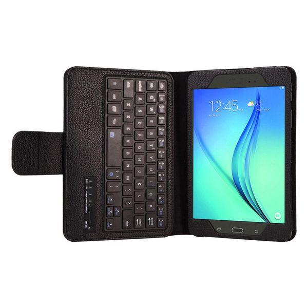 Custodia in pelle per tastiera Bluetooth per Galaxy Tab A 9.7 T550