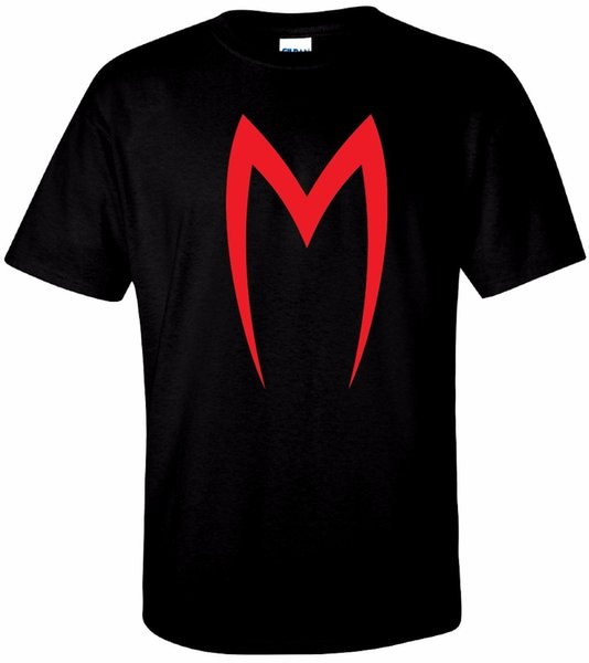 Maglietta M Speed Racer T-shirt in puro cotone di BMF Apparel Maglietta Cool casual da uomo di organza Unisex Fashion tshirt