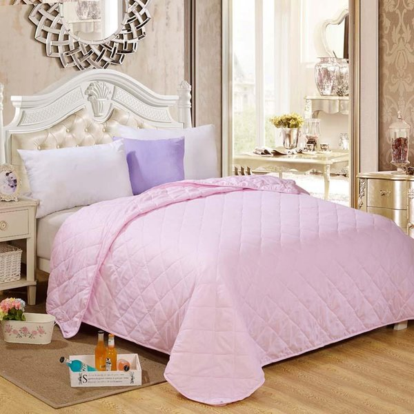 Wholesale- summer 100% cotton quilt blanket sheet Patchwork quilts comforter set cartoon Bedspread Coverlet baby childen adult