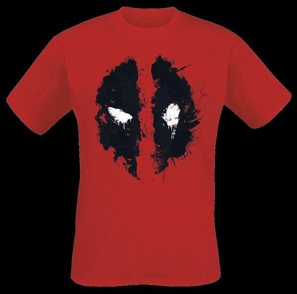 Deadpool Face T-Shirt red jacket croatia leather tshirt denim clothes camiseta?t shirt cat windbreaker Pug tshirt