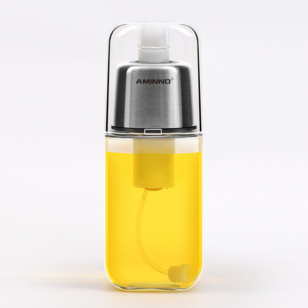 Oiler Oil Spray Bottle Fuel Injector Sprayer Pot Gravy Boats Kitchen Tools Injection Olive Stocked Spraying BBQ DH0023