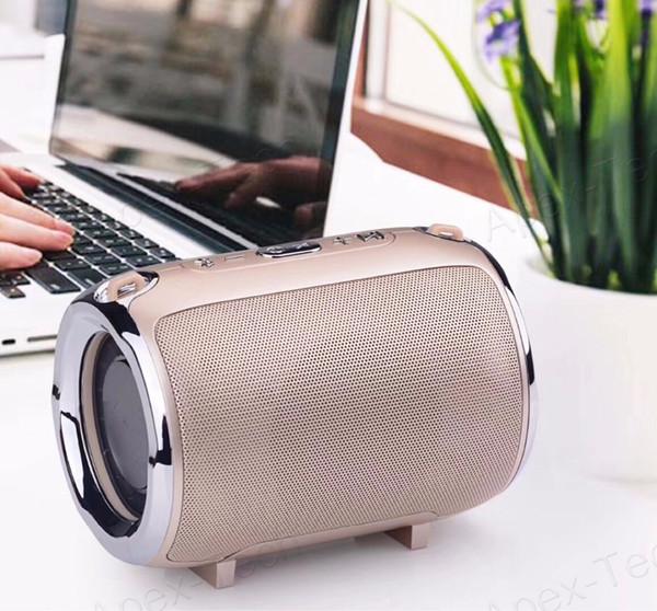 top popular Outdoor S518 Bluetooth Speaker Strap Subwoofer Stereo Wireless Mini Speaker Portable Support FM   TF Card   AUX Speaker 2019