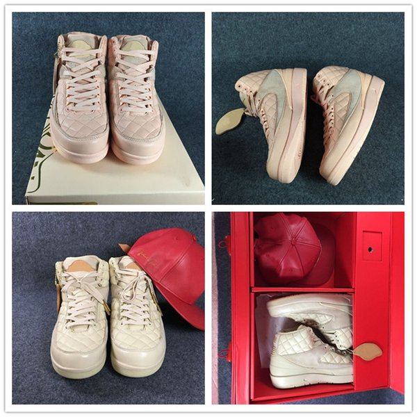 Don C x Beach Basketball Shoes 2s Arctic Orange Alumni Gold Super Limied Edition Mens Sports Sneakers Women Shoes