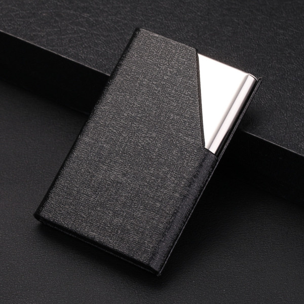 Credit Card Package Card Holder Double Open Business Card Case Automotive 3.78*2.56*0.51, Balck Convertible Top Cleaners