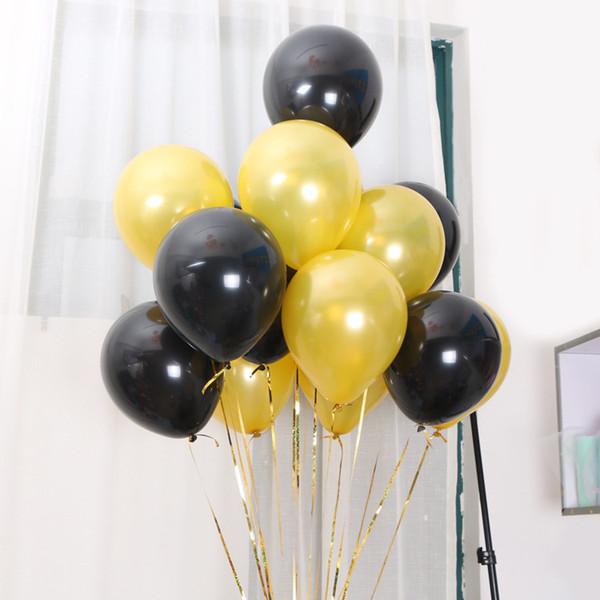 10 polegada de ouro rosa balões de látex festa do chuveiro de bebê decorações chuveiro nupcial romântico festa de aniversário de boa qualidade festa balão de látex